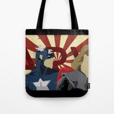 The Avengers forgot Spiderman Tote Bag