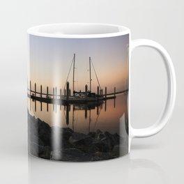 Sunrise at the Marina Coffee Mug
