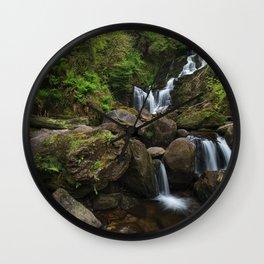 Torc Waterfall,Killarney Wall Clock