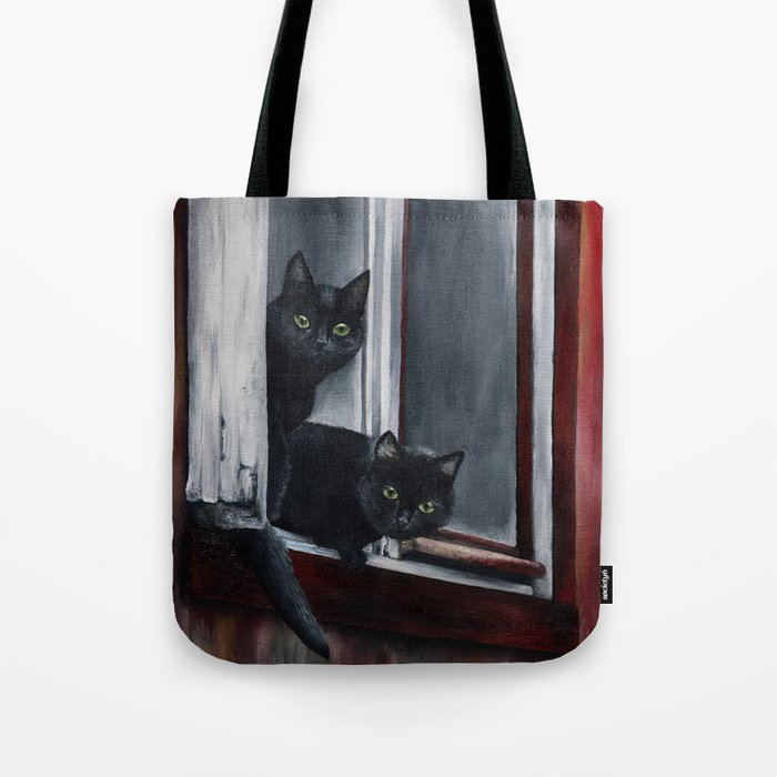 Barn Cats Tote Bag