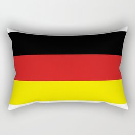 Germany flag Rectangular Pillow