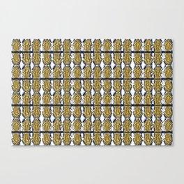 Wax (Monkey wisdom) Canvas Print