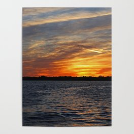 Changes on the Caloosahatchee I Poster