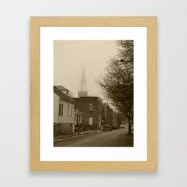Ghost Church II Framed Art Print