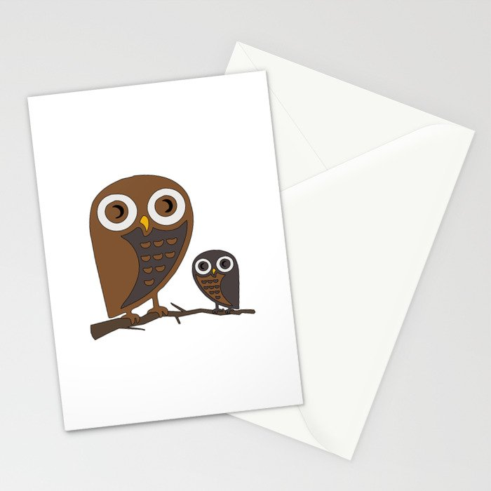 Two Hooters Stationery Cards