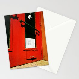 Mail Box. Stationery Cards