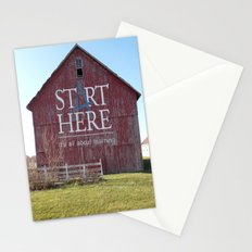 Start Here, It's All About Learning Stationery Cards