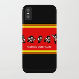 8-bit Andres 5 pose v2 iPhone Case