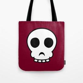 Goofy skull Tote Bag