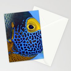 Blue-faced Angelfish Stationery Cards
