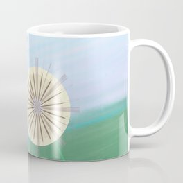 Dandelions on a Hill by Beebus Marble Coffee Mug