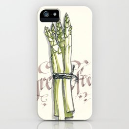 Green food iPhone Case