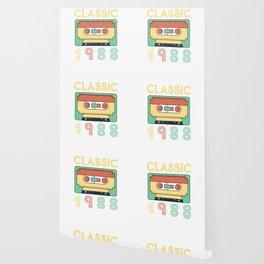Classic 1988 Mixtape Cassette Birthday Wallpaper