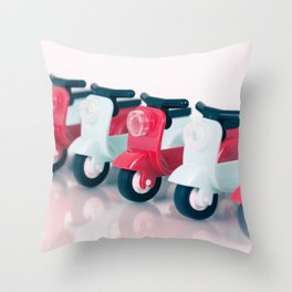 Zoom Zoom Throw Pillow