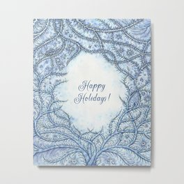 Happy Holidays! Metal Print