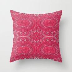 Mehndi Ethnic Style G343 Throw Pillow