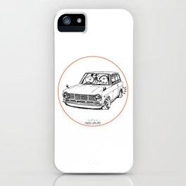 Crazy Car Art 0198 iPhone Case