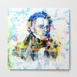 Franz Schubert Composer Musician Portrait Metal Print
