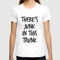 junk food T-shirts featuring Junk by ClicheZero
