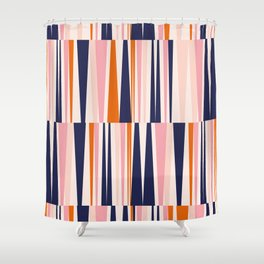 Beaching Pattern Shower Curtain