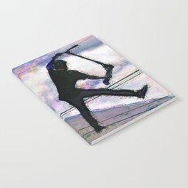 Deck Grab Champion - Stunt Scooter Art Notebook