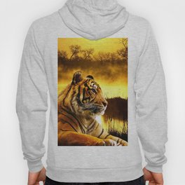 Tiger and Sunset Hoody