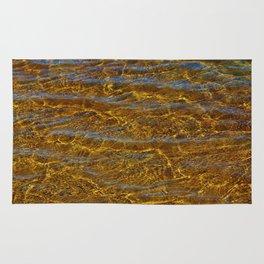 Transparent Water Bottom Rug