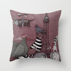 Animal Convention Throw Pillow