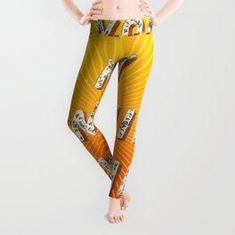 You are my Sunshine my only Sunshine- A Hell Songbook Edition Leggings