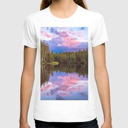 Sunset after summer rain T-shirt