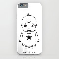 kewpie lineart iPhone 6 Slim Case