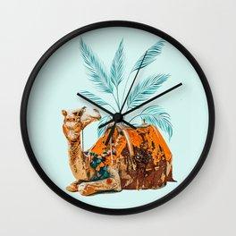 Camel Ride Wall Clock