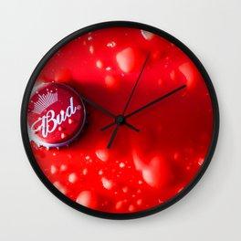 Red Bud Wall Clock