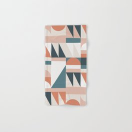 Cirque 06 Abstract Geometric Hand & Bath Towel