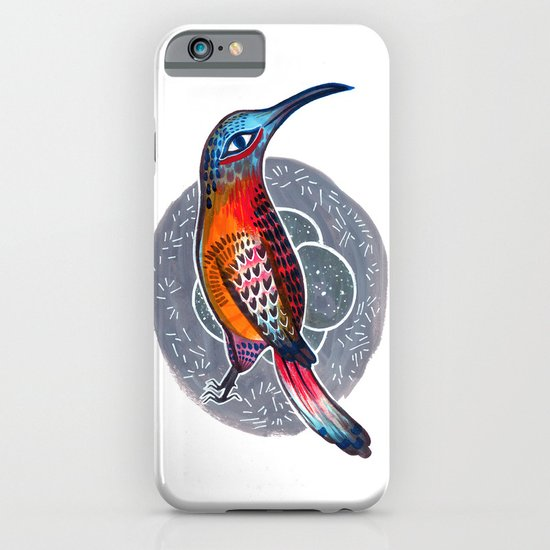Hummingbird and Nest iPhone & iPod Case