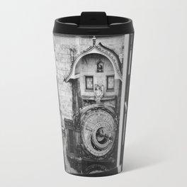 Astronomical Clock View Travel Mug
