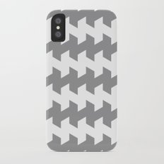 jaggered and staggered in alloy Slim Case iPhone X