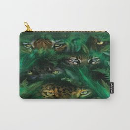 The Mountain Jungle Eyes Carry-All Pouch
