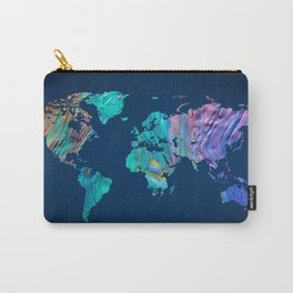 World Map 13 Carry-All Pouch