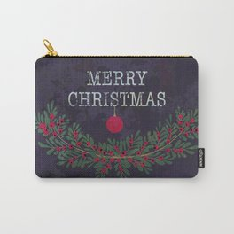 Merry Christmas and Happy New Year Carry-All Pouch