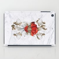 roman iPad Cases featuring Roman Marble by Eleaxart