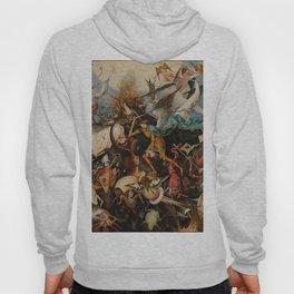 Pieter Bruegel the Elder The Fall of the Rebel Angels Hoody