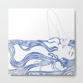 Water Nymph XXXIV Metal Print