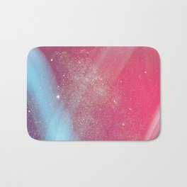 Space Sparkle Flash Color Bath Mat