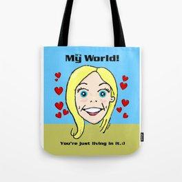 Kiki's World Tote Bag
