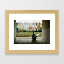 Lost? Framed Art Print