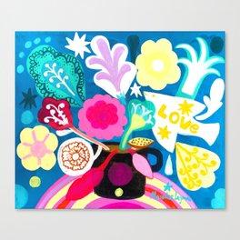 POP bouquet Canvas Print