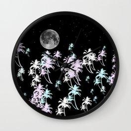 Tropical night Wall Clock