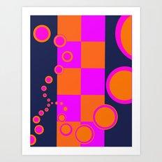 Vibration Art Print