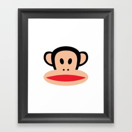 Cute Monkey (Julius Monkey) Framed Art Print